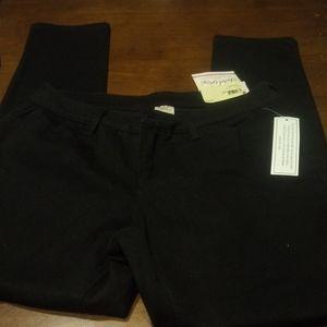 🆕 NWT Fadded Glory Black Skinny Jeans Size 10P 🆕